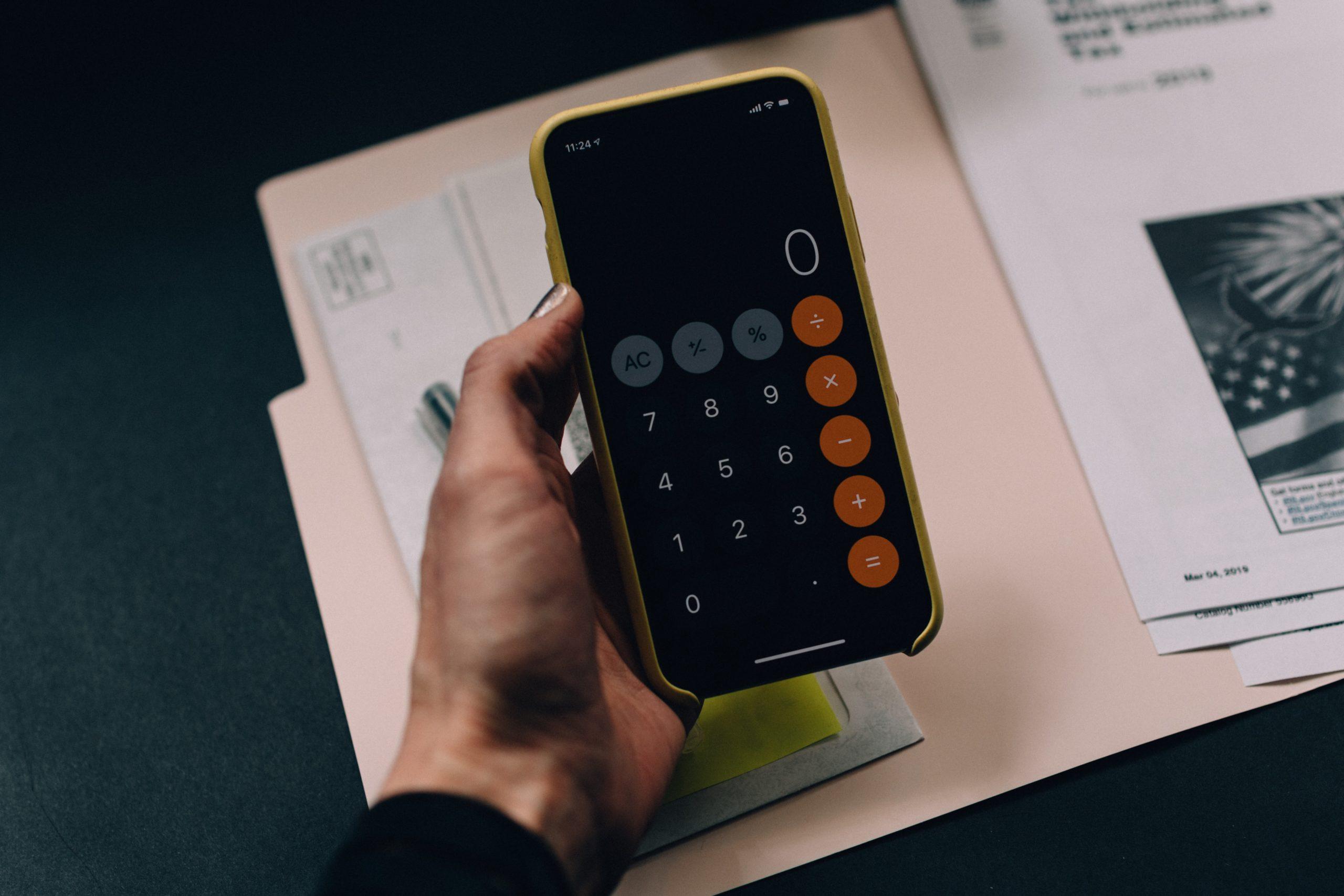 Percentage increase calculator